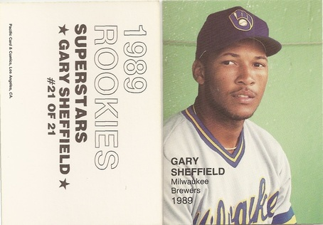 Gary Sheffield Price List Supercollector Catalog